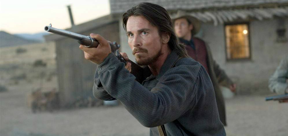 Christian Bale Rides A... Christian Bale Western
