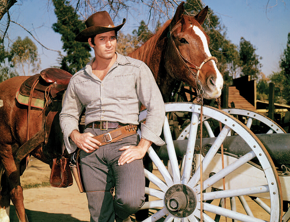 Clint Walker Cowboys And Indians Magazine