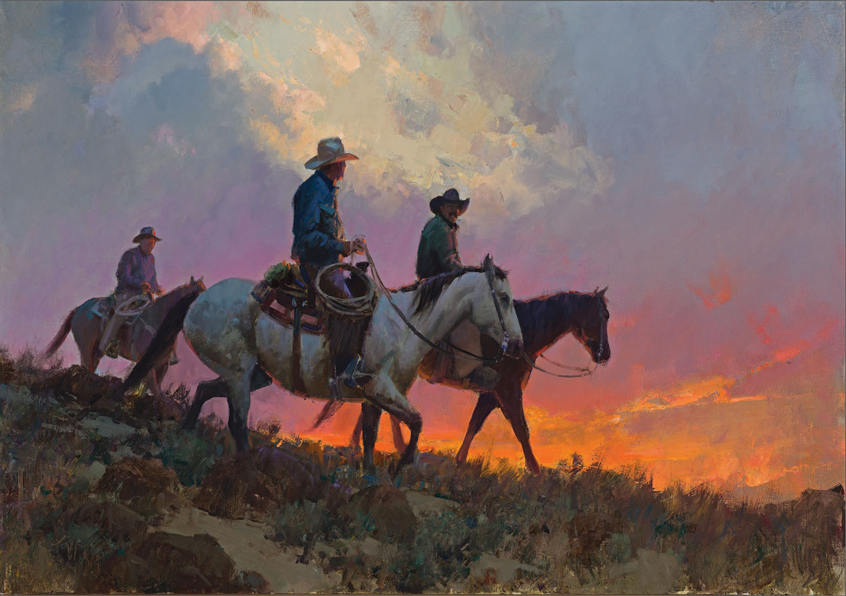 Art Gallery Bill Anton Cowboys And Indians Magazine